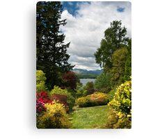 UK - Windermere viewed from Brockhole Canvas Print