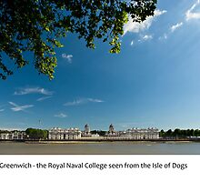UK - Greenwich Royal Naval College by macondo