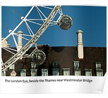 UK - The London Eye Poster
