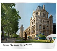 UK - London's Natural History Museum Poster