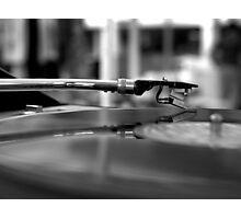 Romance with Vinyl Photographic Print