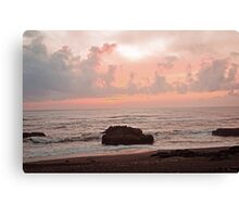 Evening At The Beach Canvas Print