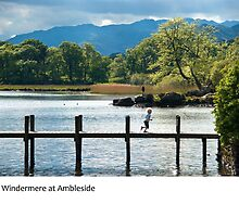 UK - Ambleside on the shores of Windermere in Cumbria by macondo