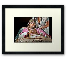 Man Flu! Framed Print
