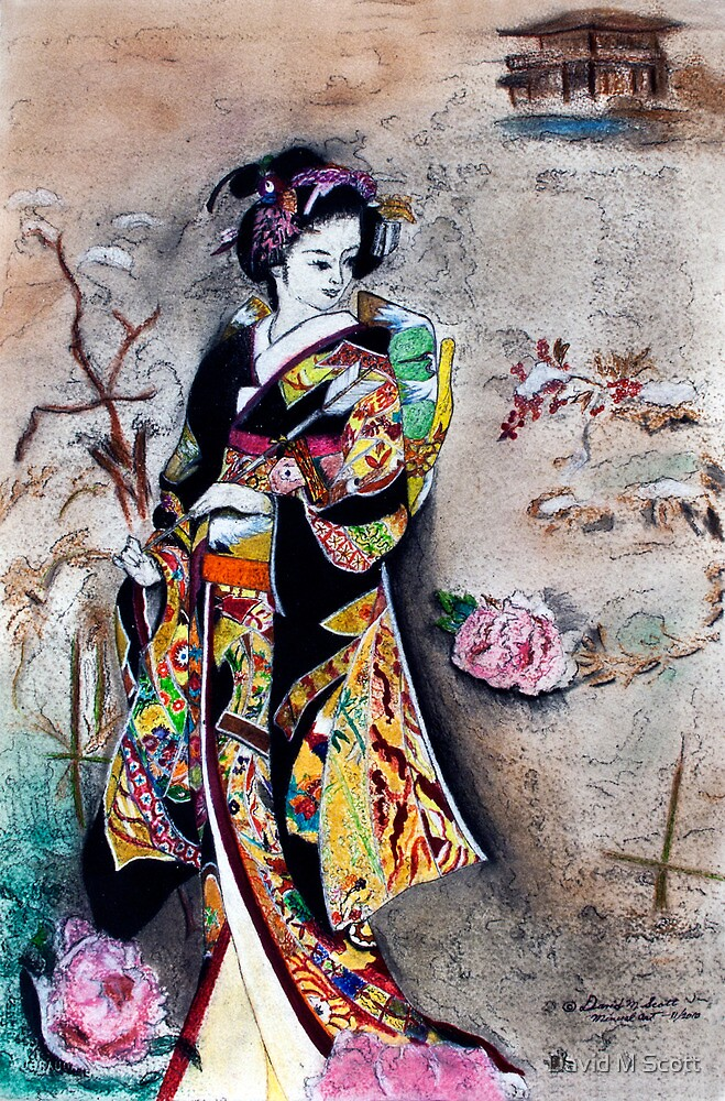 "Finally, the ""Winter Kimono"" is done by David M Scott"