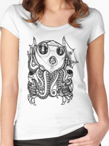 Cthulhu -Corporate Madness- Women's Fitted Scoop T-Shirt