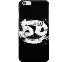 Gonzo Zodiac - Cancer (white) iPhone Case/Skin