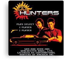Hunters the Video Game Canvas Print