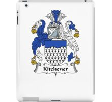 Coat of arms (family crest) for last-name or surname Kitchener . Heraldry banner for your name. iPad Case/Skin