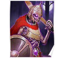 Skarkh The Undead Warrior Poster
