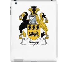 Coat of arms (family crest) for last-name or surname Knapp . Heraldry banner for your name. iPad Case/Skin