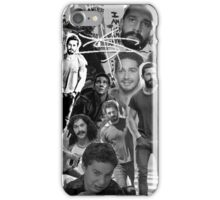 Shia Labeouf Collage iPhone Case/Skin