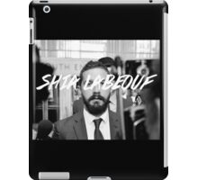 Shia Labeouf Black and White iPad Case/Skin