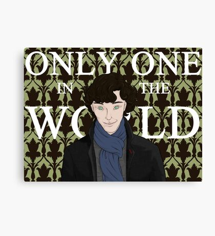 Only One in the World Canvas Print
