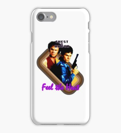 Brock and Chest- Feel the Heat iPhone Case/Skin