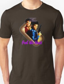 Brock and Chest- Feel the Heat Unisex T-Shirt