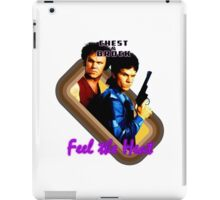 Brock and Chest- Feel the Heat iPad Case/Skin