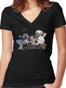 Misfit Toys Women's Fitted V-Neck T-Shirt