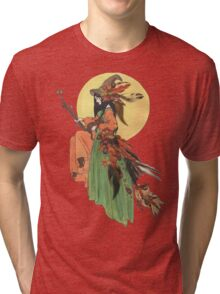 Autumn Witch Tri-blend T-Shirt
