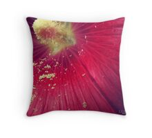 Scattering of Pollen Throw Pillow