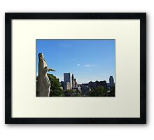 PVD: Williams Overlooking Framed Print