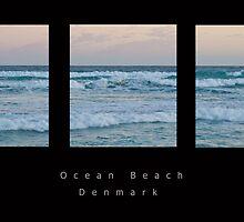 Ocean Beach Triptych by pennyswork