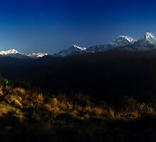 Poon Hill, Nepal. by Andy Newman