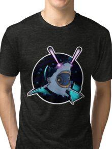 Laser Shark Tri-blend T-Shirt