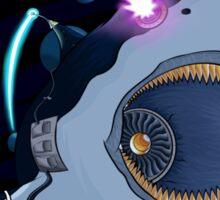 Laser Shark Sticker