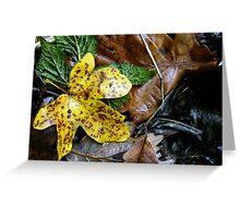 Little Gold Leaf Greeting Card