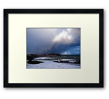 Dramatic Cloud Framed Print