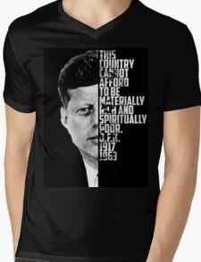 Spiritually Poor Mens V-Neck T-Shirt