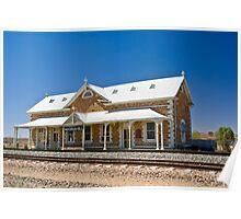 Manna Hill Station, South Australia Poster
