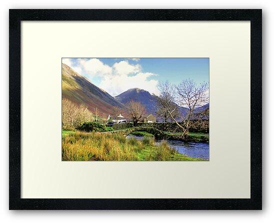 Packhorse Bridge - Wasdale Head #2 by Trevor Kersley