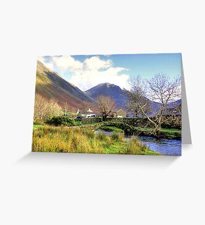 Packhorse Bridge - Wasdale Head #2 Greeting Card