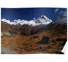 Machhapuchre, Nepal. Poster