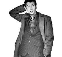David Tennant as Doctor Who by palmea1
