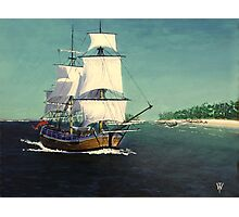 Endeavour in the Pacific Photographic Print