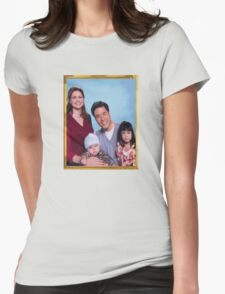 Asian Jim Halpert Womens Fitted T-Shirt