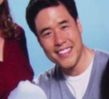Asian Jim Halpert Sticker