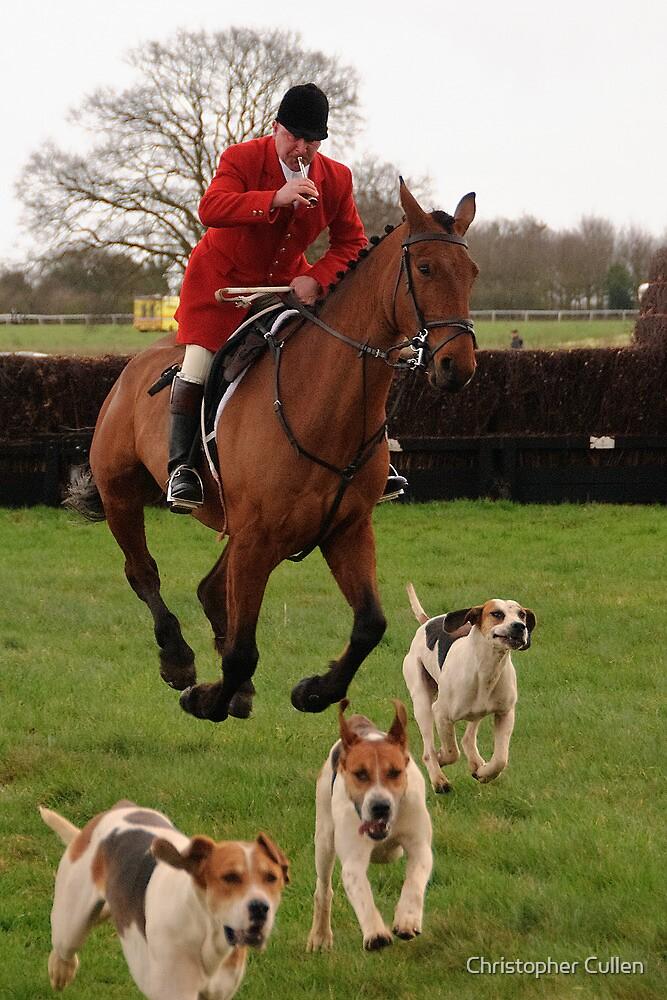 Essex & Suffolk Hunt at Higham by Christopher Cullen