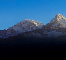 Annapurna, Himalaya, Nepal. by Andy Newman