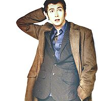 COLOR David Tennant as Doctor Who by palmea1