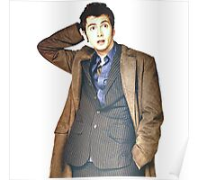 COLOR David Tennant as Doctor Who Poster