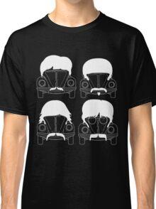 The Beatles - White Classic T-Shirt
