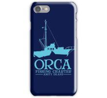 Orca Fishing Charter iPhone Case/Skin