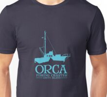 Orca Fishing Charter Unisex T-Shirt