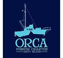 Orca Fishing Charter Photographic Print