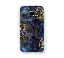 Spacey Tardis Circular Gallifreyan design  Samsung Galaxy Case/Skin