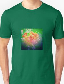 Flower Petals Ablaze T-Shirt